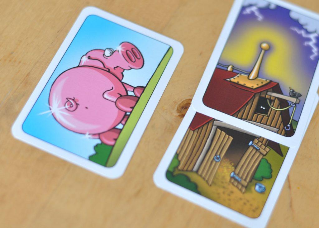 Drecksau Kartenspiel für Kinder Reisespiel