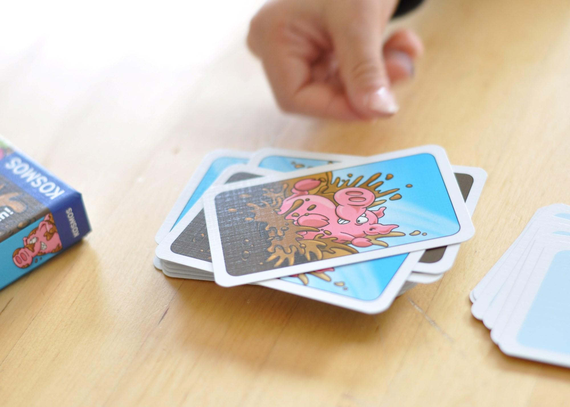 Kartenspiel Schwimmen Tricks