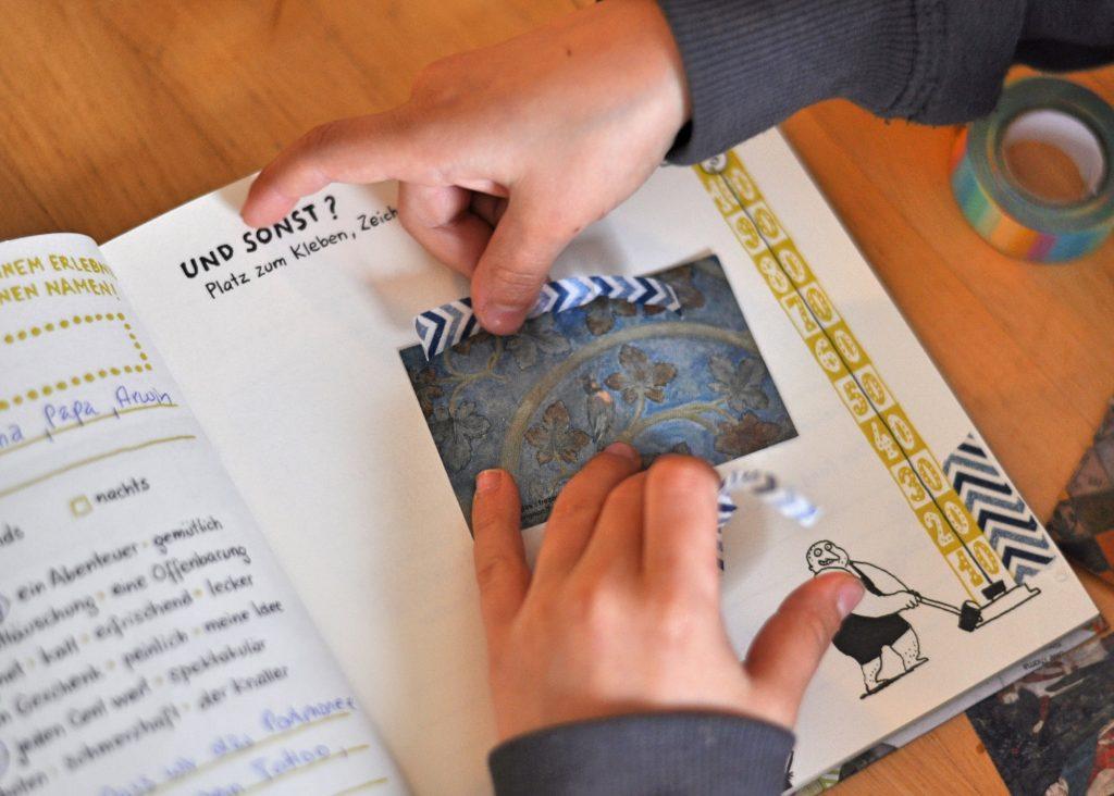 Kinder Künstler Erlebnis Sammelbuch von Beltz & Gelberg, Erinnerungen aufbewahren für Schulkinder ab 6 Jahren