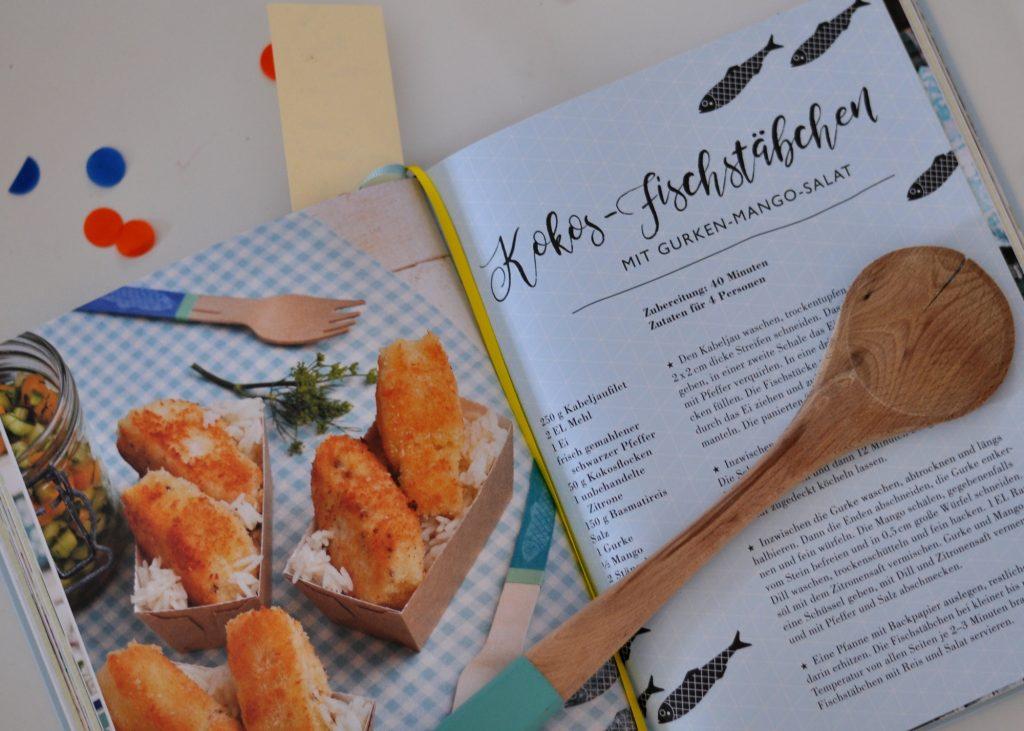 Familienküchenglück - Kokos-Fischstäbchen