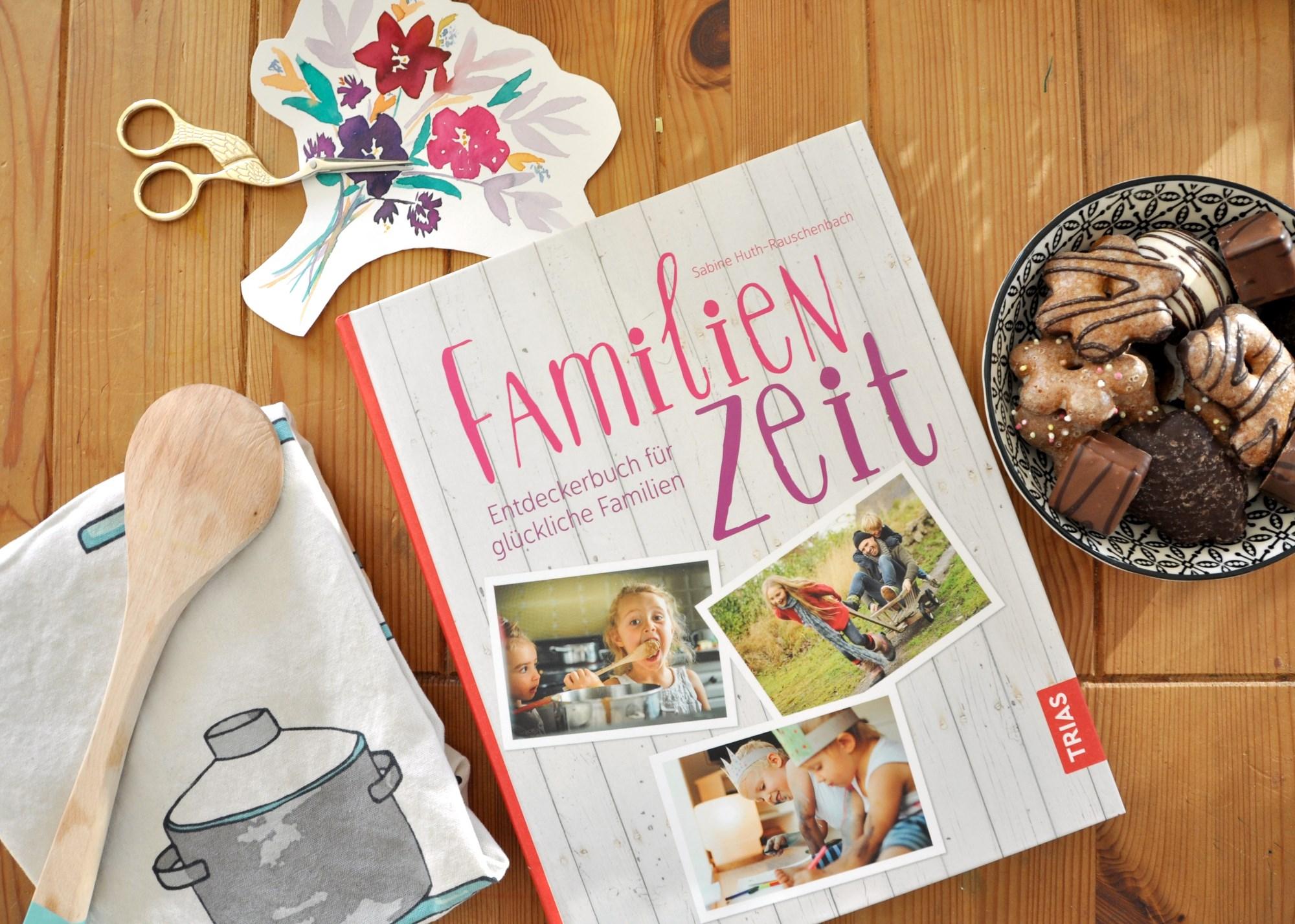 Familienzei Entdeckerbuch für glückliche Familien - meine Rezension auf Mutter&Söhnchen