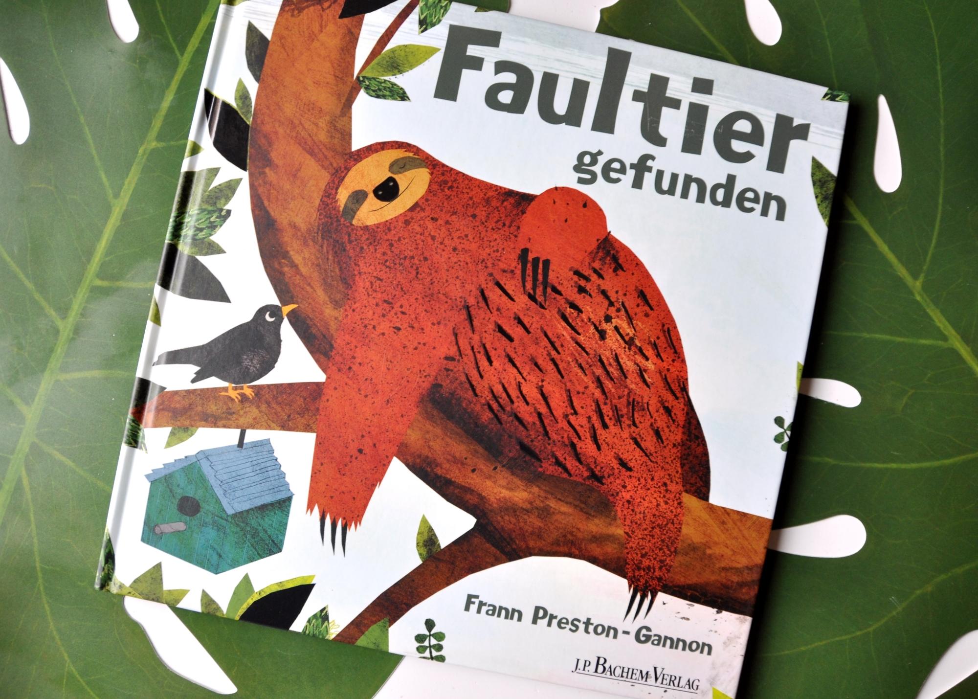 Faultier gefunden - Ein wundervoll illustriertes Kinderbuch für Faultierfreunde ab 3 Jahren, Rezension auf Mutter&Söhnchen