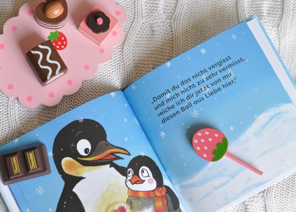 Flim Pinguin im Kindergarten