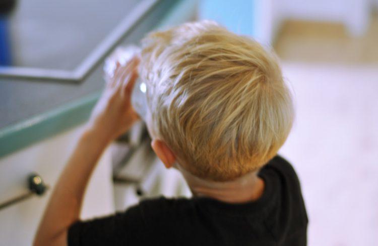 Kinderfotos im Netz -Blogparade Schau hin