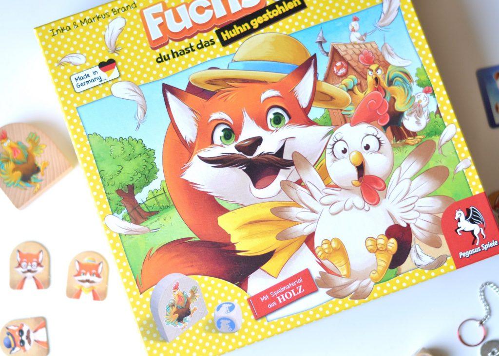 Fuchs du hast das Huhn gestohlen - Mutter&Söhnchen