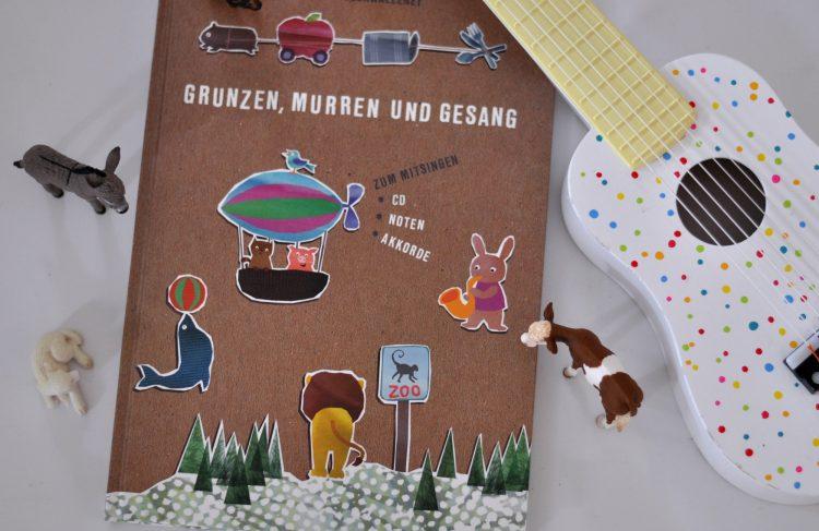 Philine erzählt, wie ihr Kinderliederbuch am Küchtisch entstand