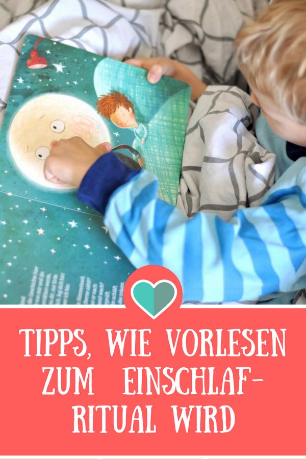 Meine Tipps, wie Vorlesen zum Einschlafritual wird #Einschlafen #Rezension #Buch #vorlsen #kinderbuch #Ritual