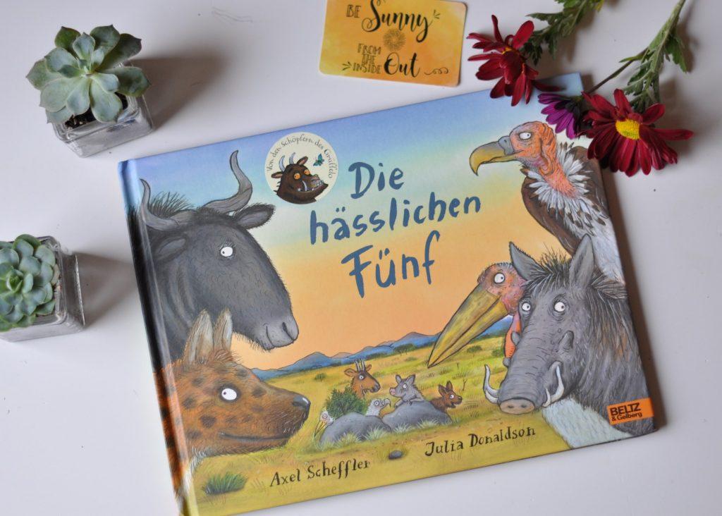 Die hässlichen fünf von Axel Scheffler und Julia Donaldson - mehr Kinderbücher zum Thema Monster und magische Wesen und dem Mut, anders zu sein, findet ihr auf Mutter&Söhnchen