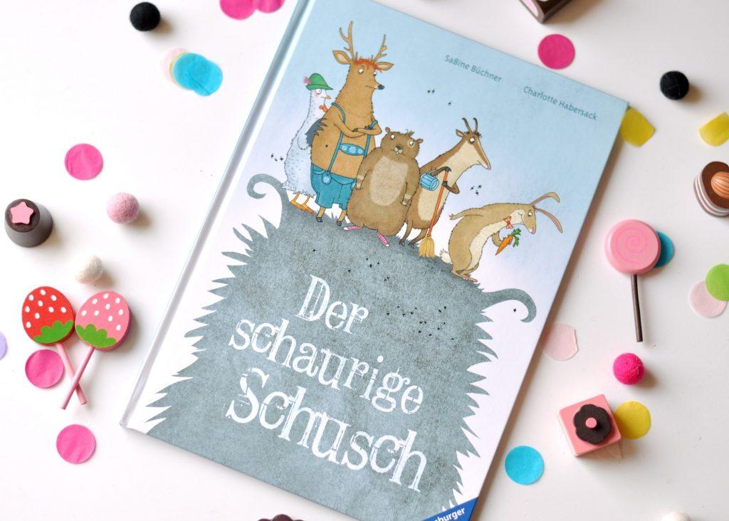 Der schaurige Schusch - Bilderbuch von Chrlotte Habersack, mehr Bücher mit magischen Wesen und vom Anderssein findet ihr auf Mutter&Söhnchen #kinderbuch #bilderbuch