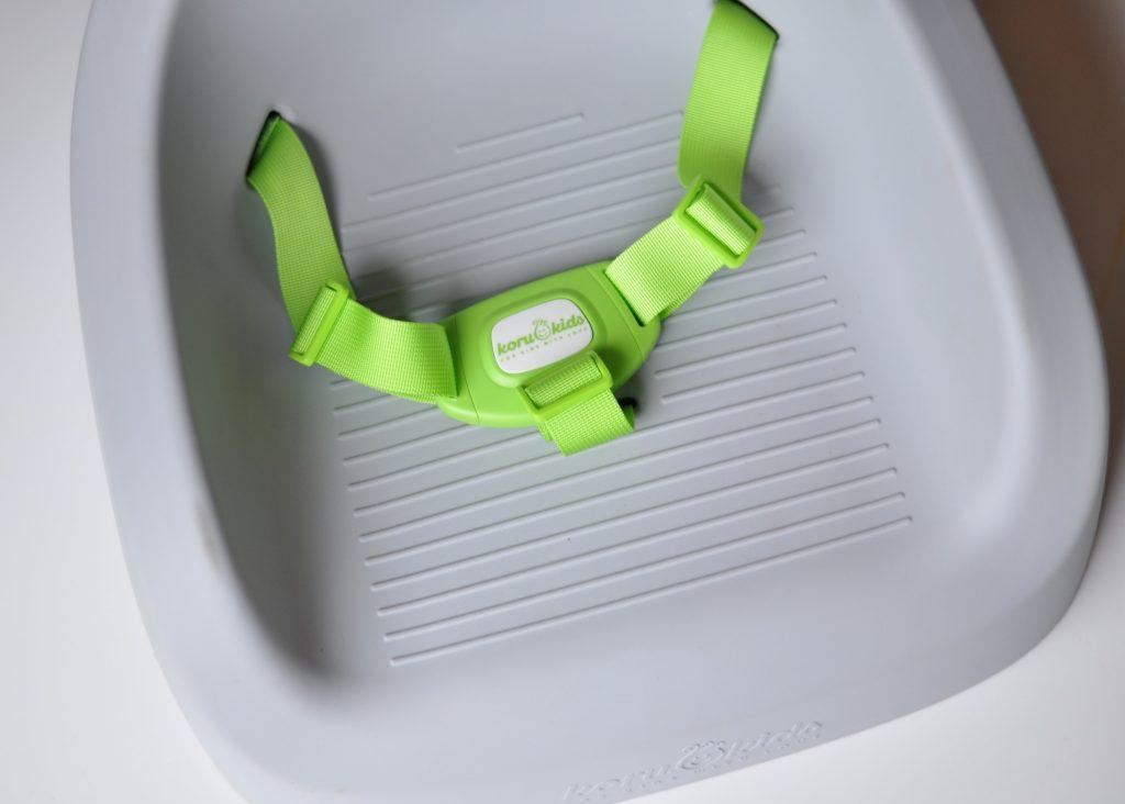 Koru Kids Sitzerhöhung - Produkttest auf Mutter&Söhnchen