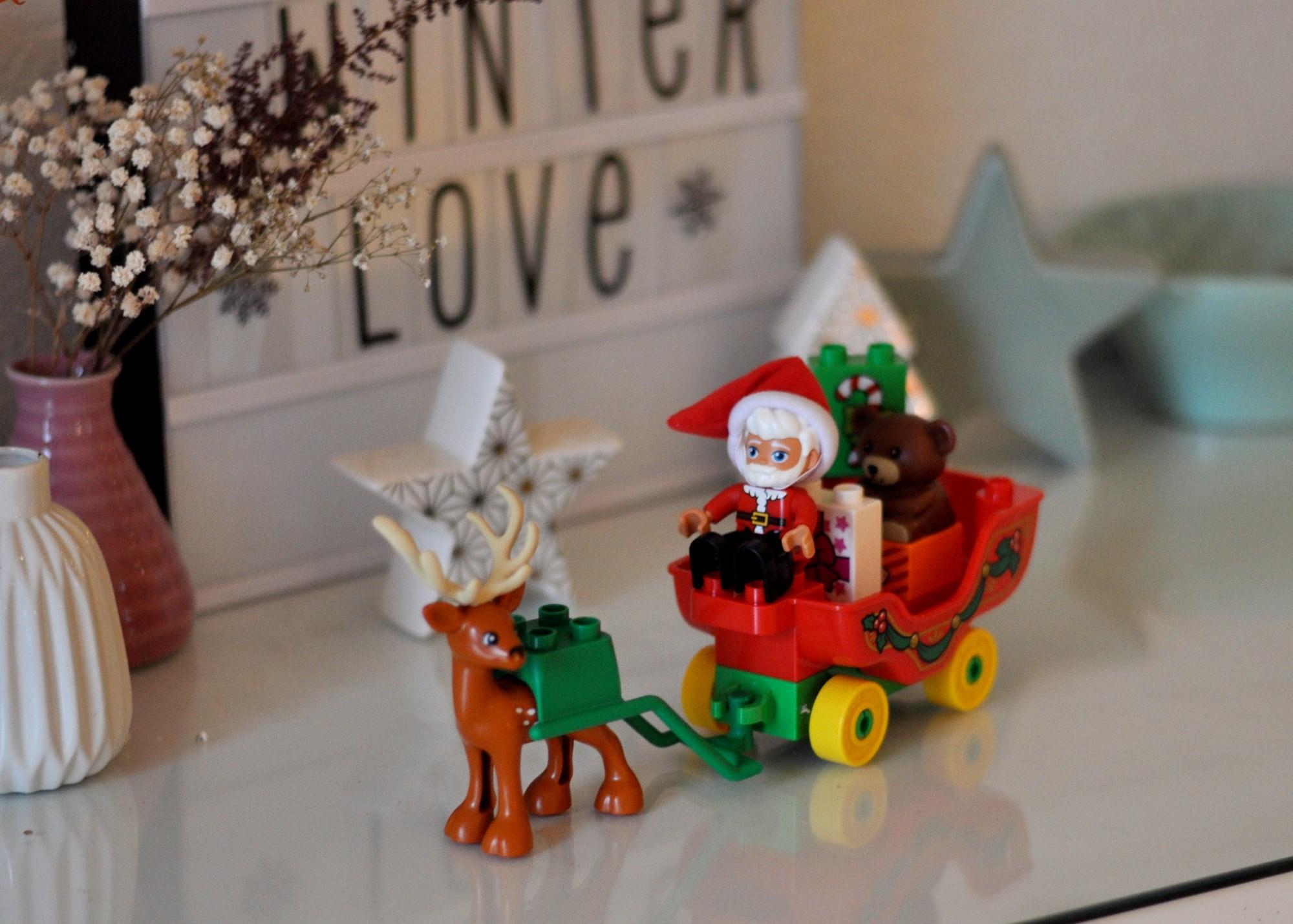 Weihnachtliche Bastelideen mit Lego