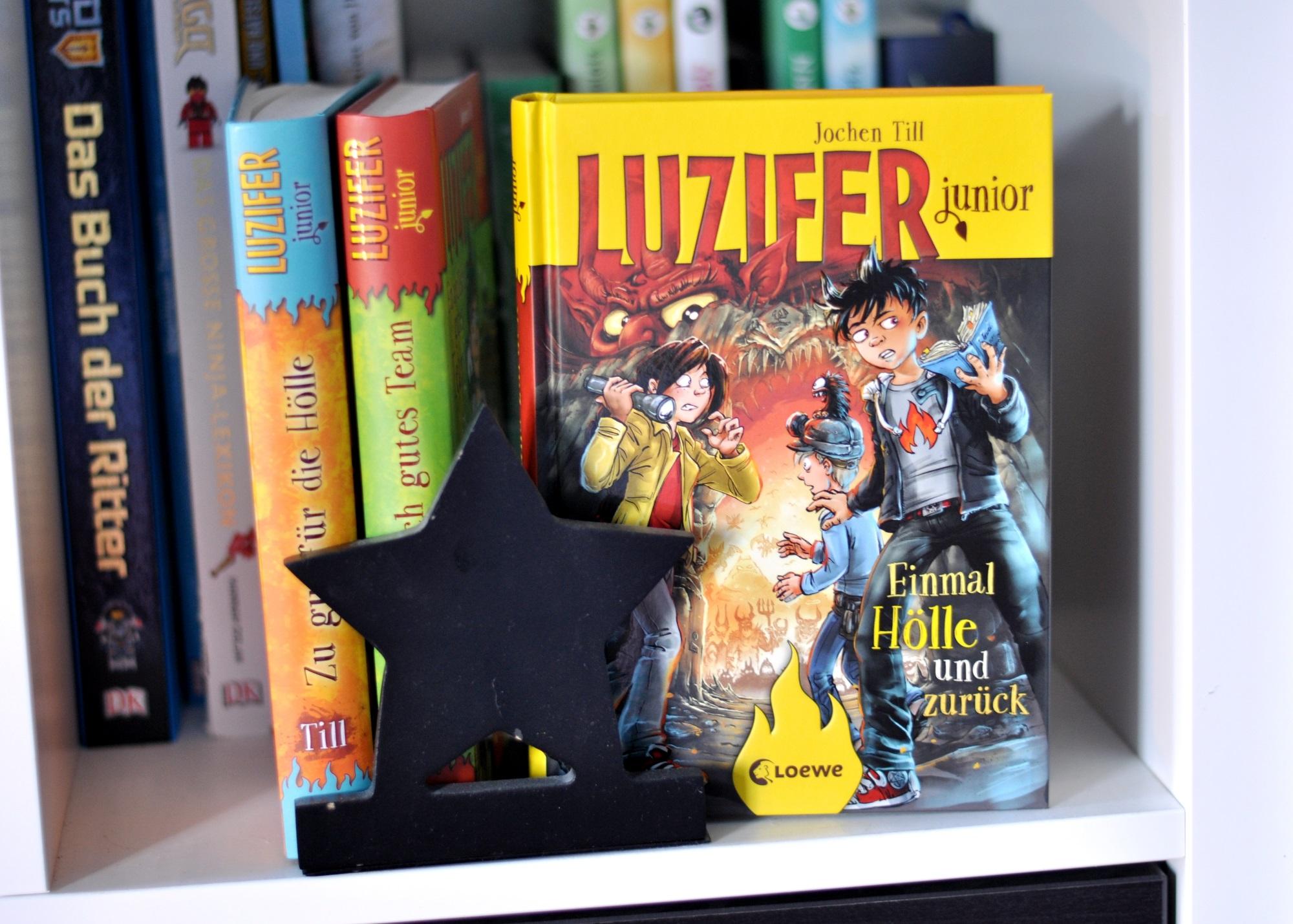 Luzifer junior 3: Einmal Hölle und zurück - Renzension auf Mutter&Söhnchen