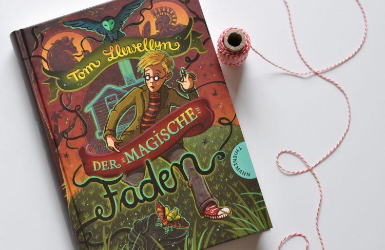 Der magische Faden - Abenteuerroman für Kinder ab 10 Jahren, Kinderbuch von Thienemann, Fantasy für Kinder, Rezension auf dem Blog