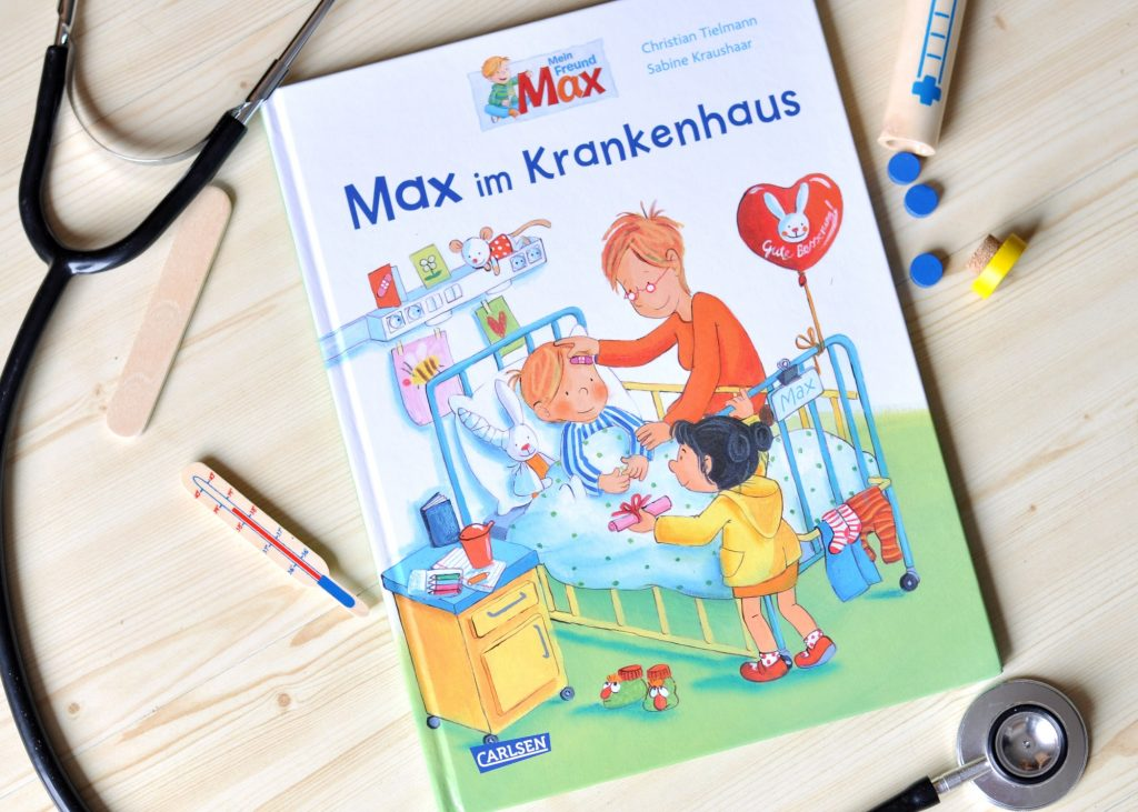 Max im Krankenhaus #Kinderbuch #Krankenhaus #krank