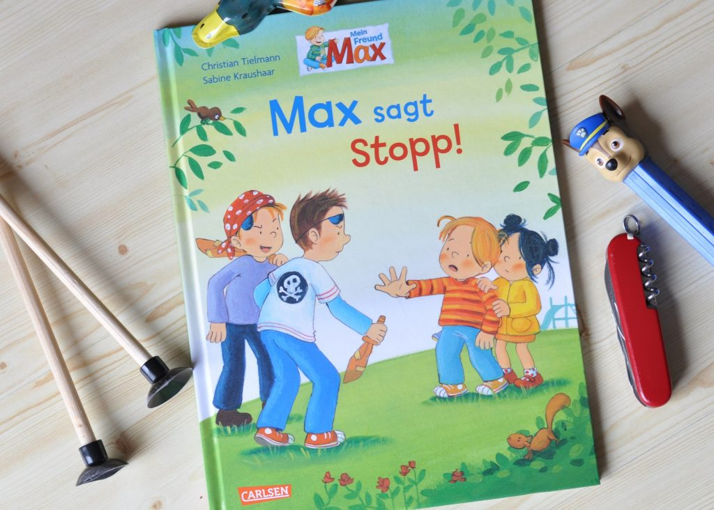 Max sagt Stopp - Kinderbuch ab 3 Jahren #Neinsagen #Kinderbuch