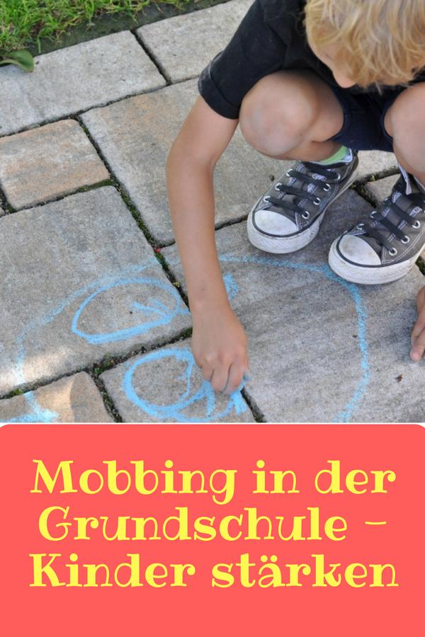 Mobbing in der Grundschule - Tipps um Kinder zu stärken und aus der Opferrolle zu holen #Mobbing #Schule #Grundschule #Schulkind