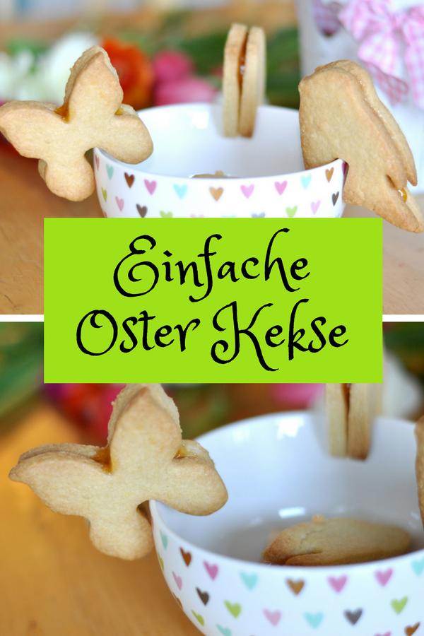 Einfache Oster Kekse für die Tasse #Ostern #Kekse #Plätzchen #Frühling #Tassenkeks #Backen