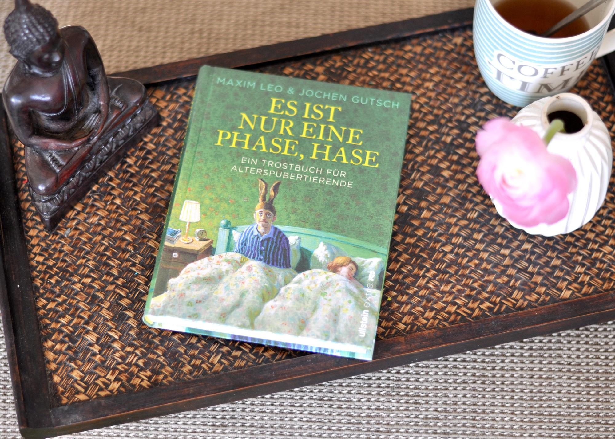 Es ist nur eine Phase, Hase. Ein Trostbuch für Alterspubertierende #Buchtipp #Ü40 #Eltern