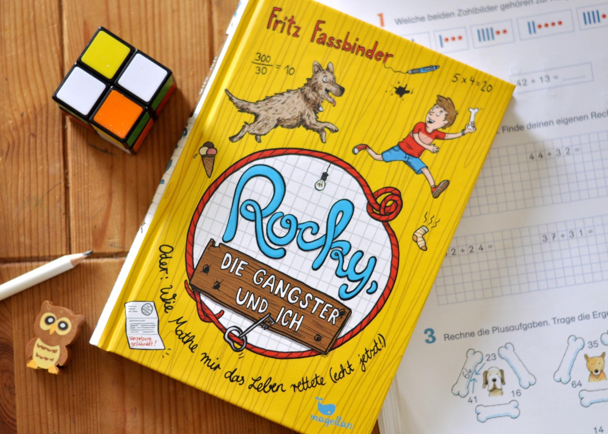 Rocky, die Ganster und ich - ein Kinder-Krimi ab 10 Jahren #Hund #Mathe #Polizei #Krimi #Kinderbuch #Schulkind