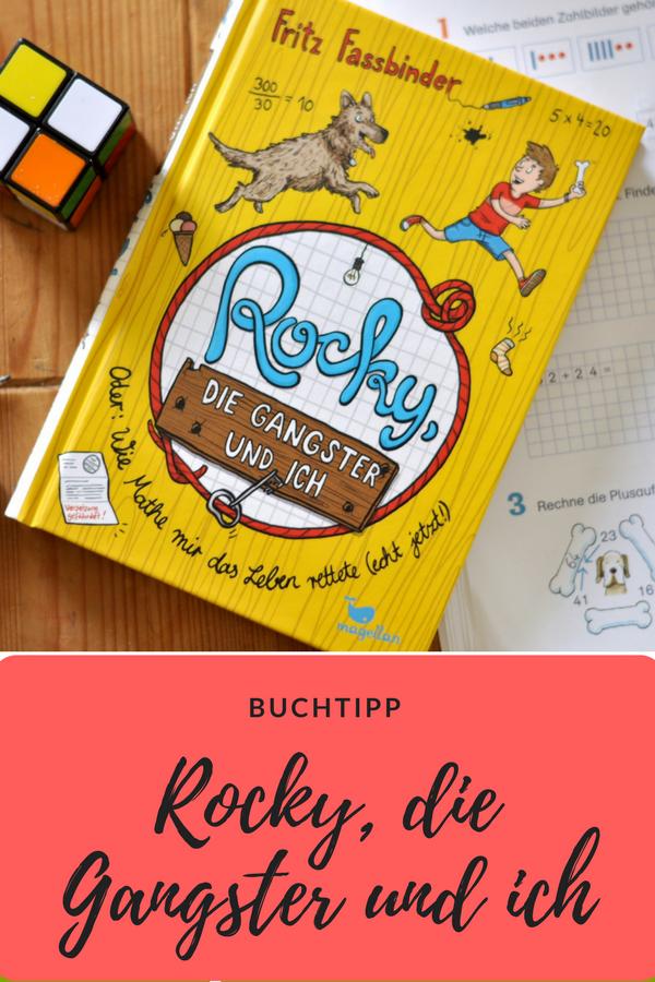 Rocky die Gangster und ich - spannende Polizeihund-Geschichte, Rezension auf Mutter&Söhnchen #polizei #Hund #Kinderbuch #Abendteuer #Mathe #Schulkind