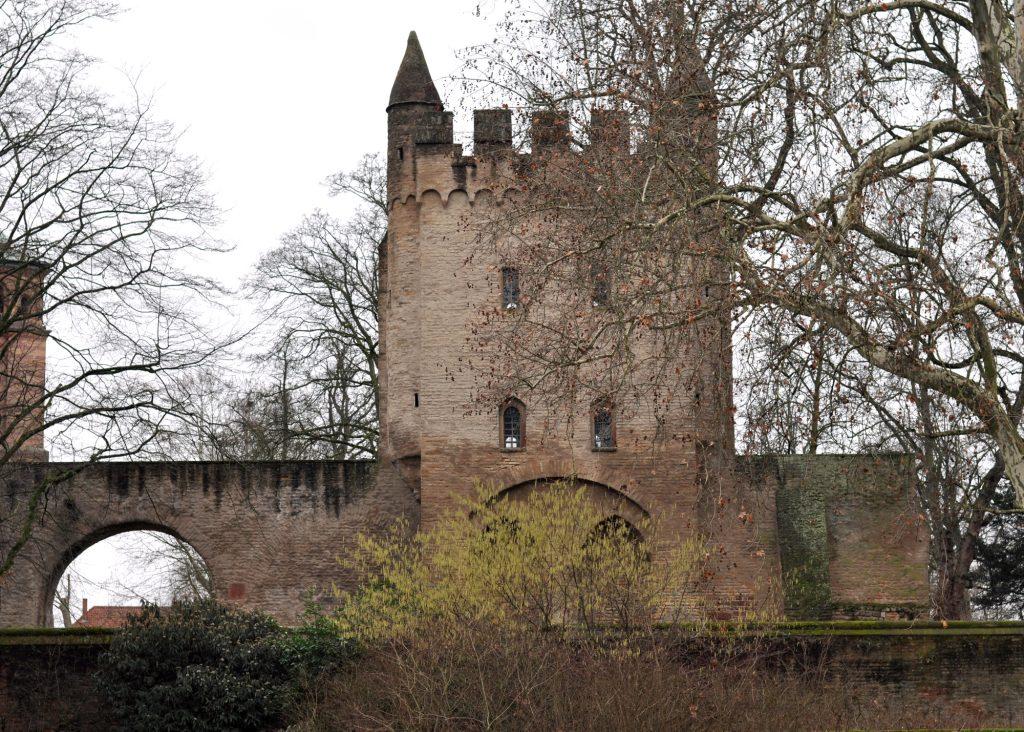 Stadtmauer in Speyer
