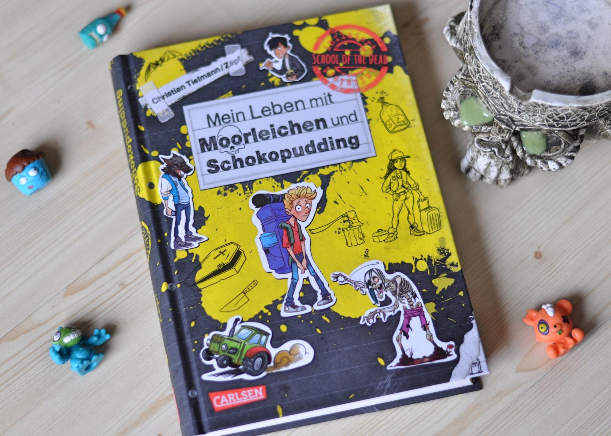 Mein Leben mit Moorleichen und Schokopudding - Band 4 der School of the Dead Reihe ist da! #kinderbuch #schule #schulkind #comic #zombie
