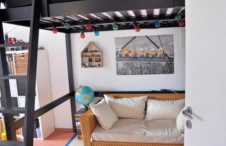 Kinderzimmer Makeover: Ein Hochbett für den Schuljungen