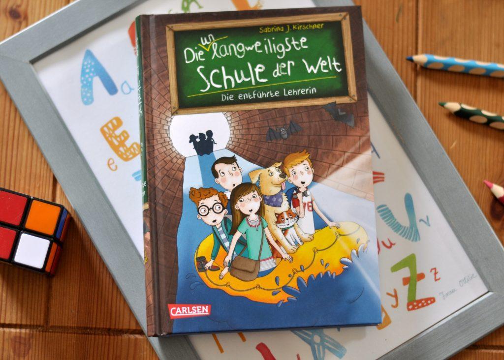 Die unlangweiligste Schule der Welt 3 - Die entführte Leherin, Kinderbuch ab 8 Jahren mit Illustrationen