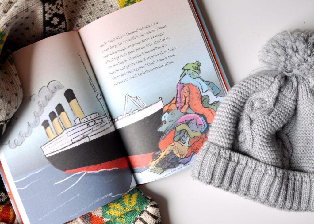 Verkühl dich täglich - ein Buch für Kinder, die Mützen & Co. nicht anziehen mögen