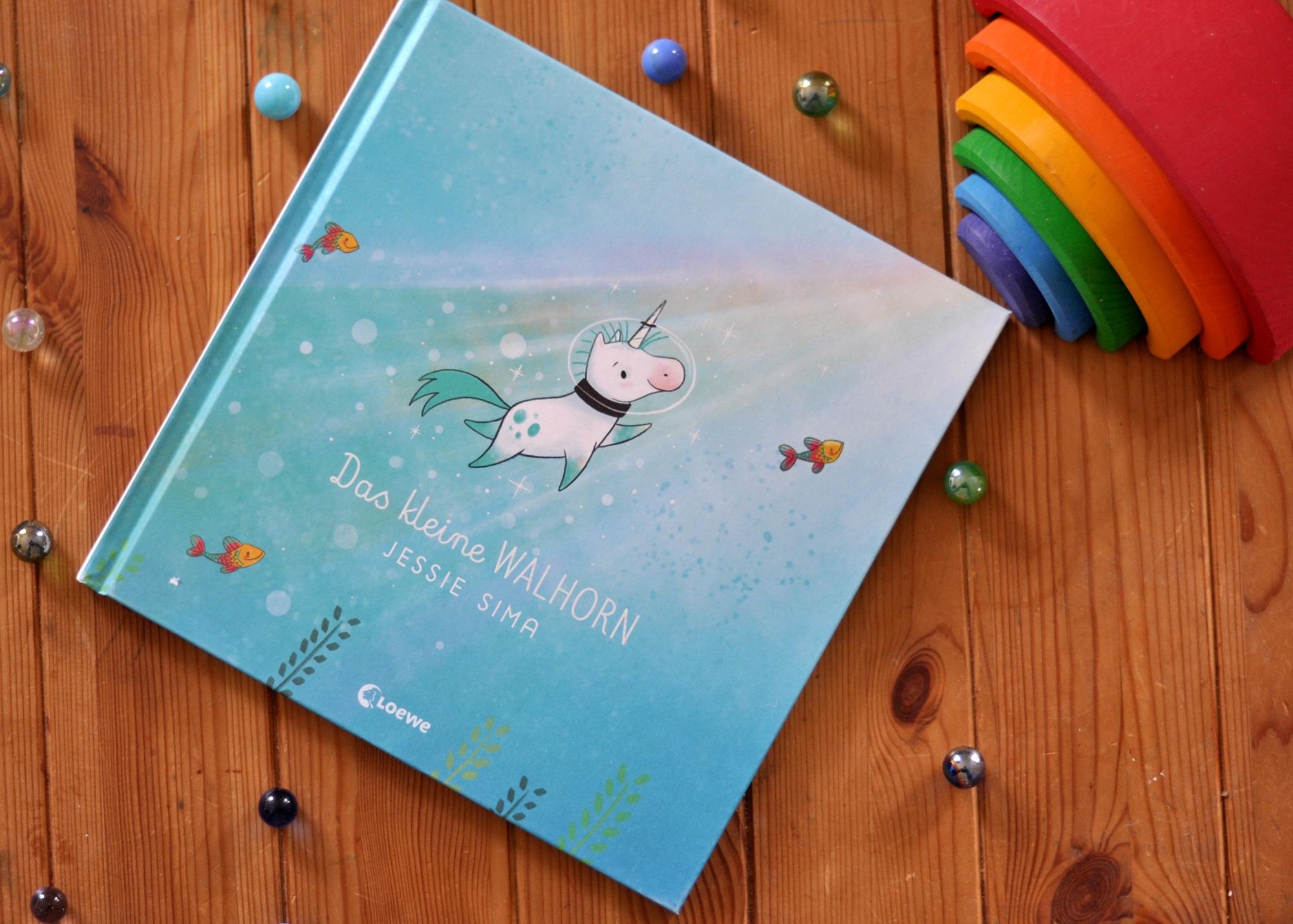 Das kleine Walhorn - Kinderbuch über die Bedeutung von Familie ab 4 Jahren - Rezension auf Mutter&Söhnchen