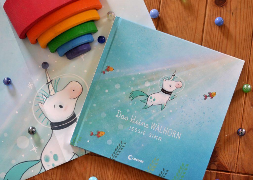 Das kleine Wahlhorn - Kinderbuch über die Bedutung von Familie - Rezension auf Mutter&Söhnchen
