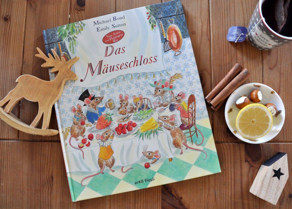 Das Mäuseschloss, Michael Bond, Kinderbuch zum Vorlesen, zauberhaftes Kinderbuch mit wundervollen Illustrationen, noch mehr Vorlesebücher für die Weihnachtszeit findest du auf meinem Blog