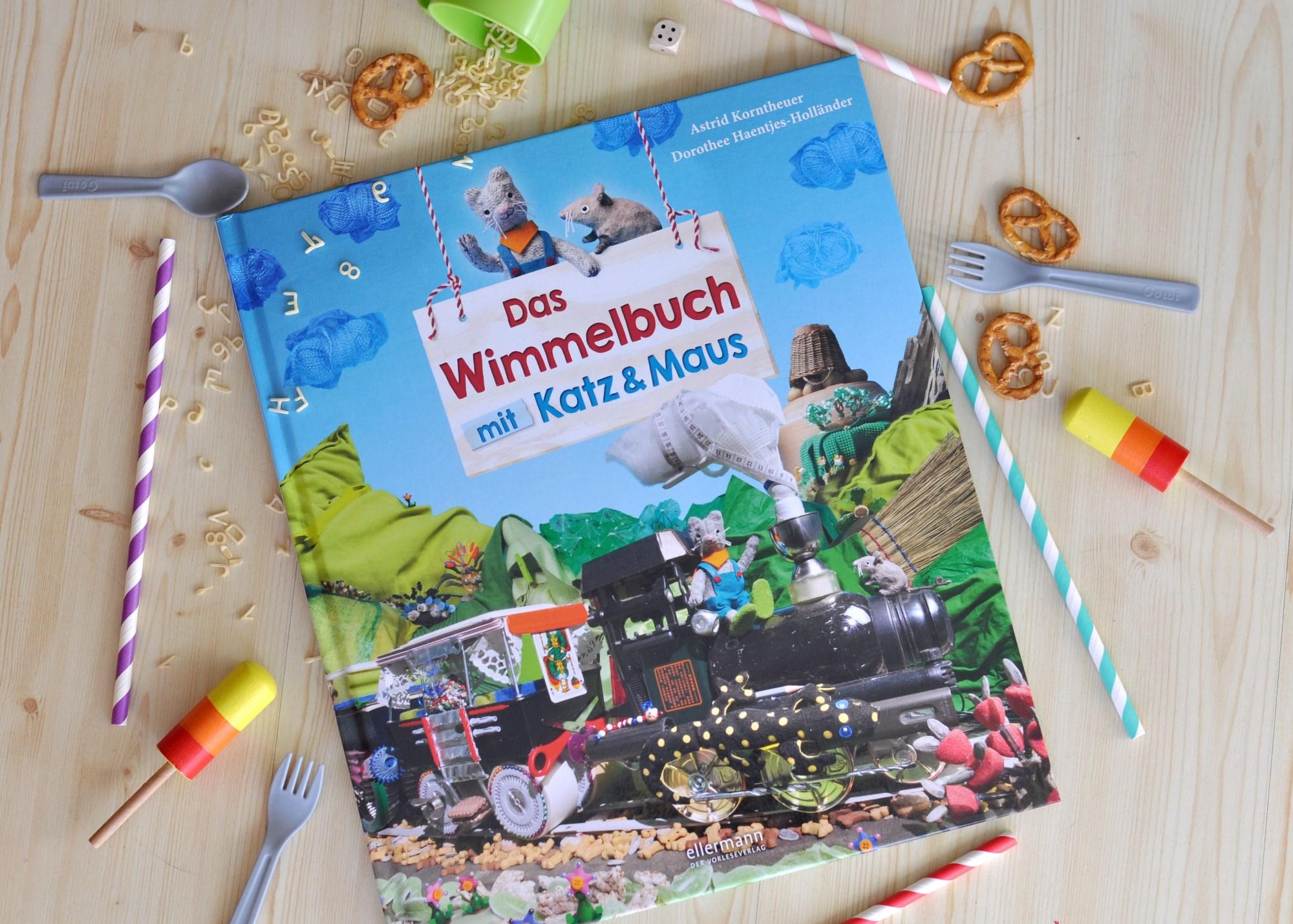 Wimmelbuch mit Katz & Maus - Immer wieder neues entdecken mit fotografierten Alltagsgegenständen #wimmelbuch #kinderbuch #bilderbuch #foto #katze #maus