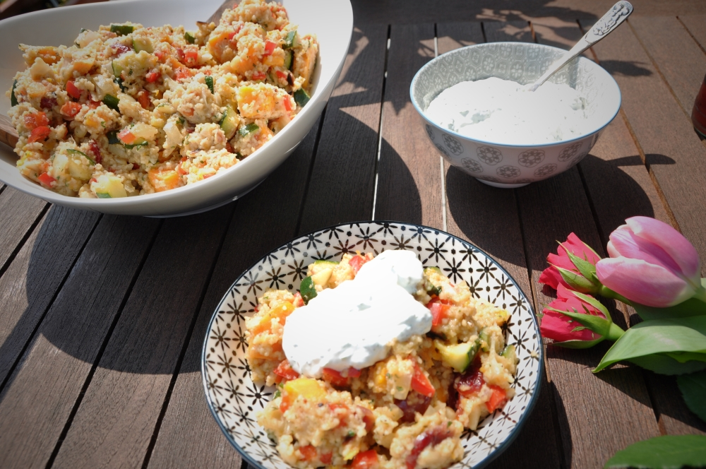 Fruchtiger Couscous-Salat #Rezept