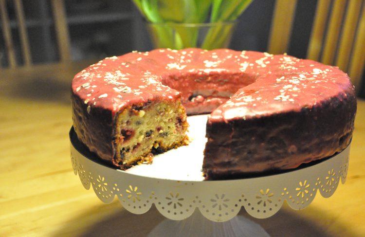 Saftiger Himbeer-Haferkuchen