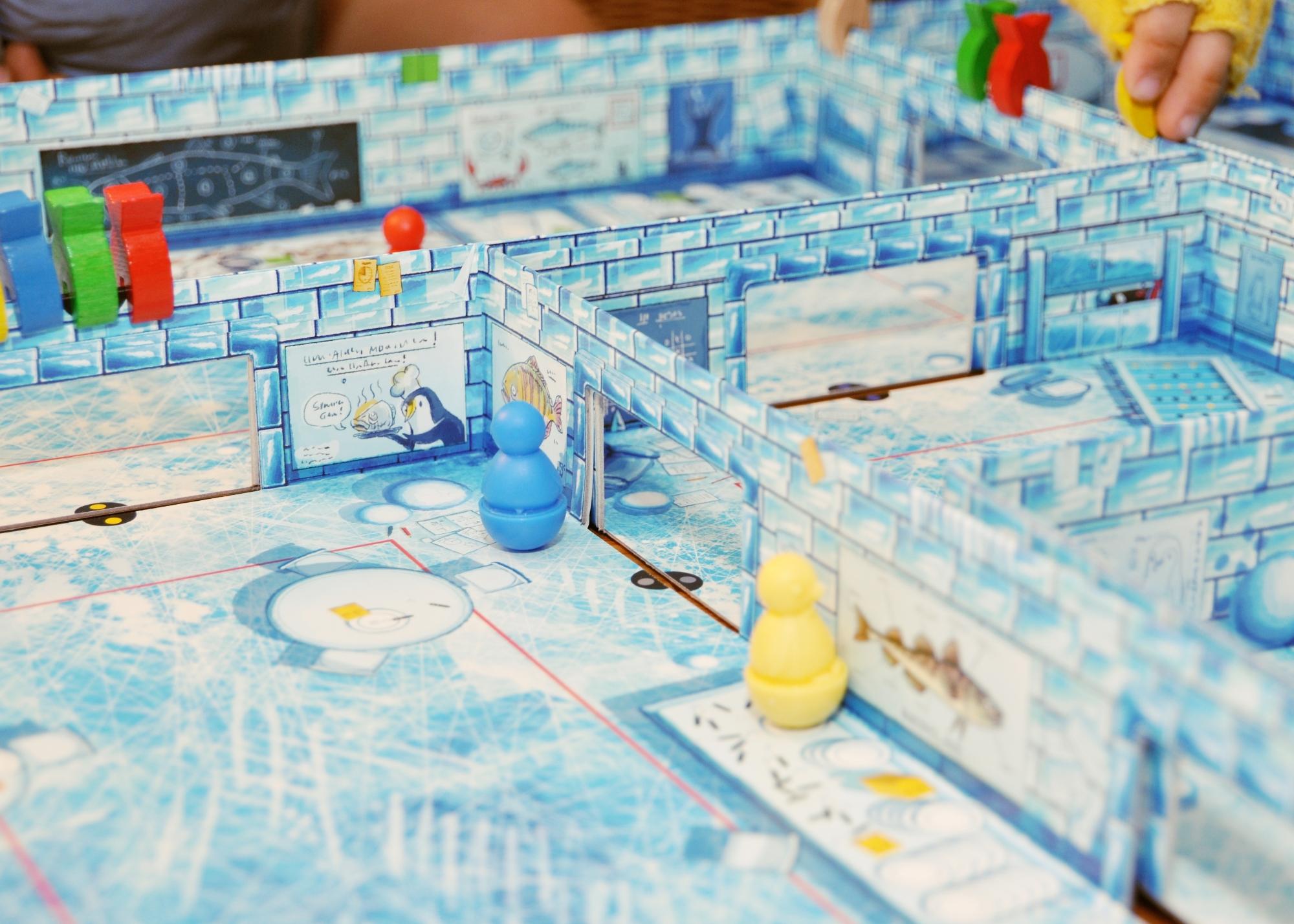 Pinguine auf Fischfang – IceCool #Rezension #Gewinnspiel